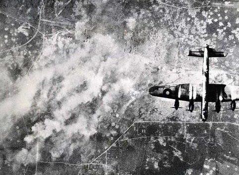 Начало огненного шторма. 14 февраля 1945 г.