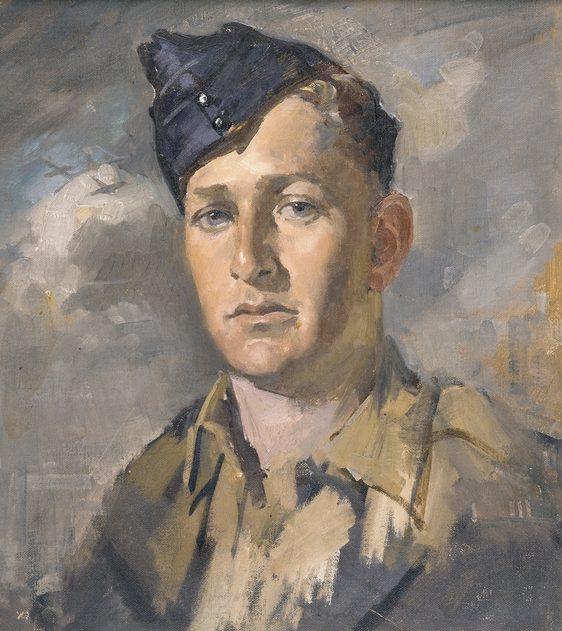 Mainwaring Geoffrey. Офицер RAAF.