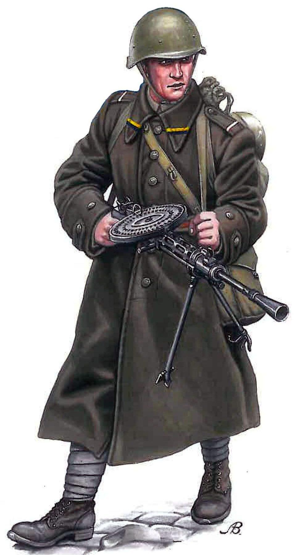 Bulczynki Arnold. Советский пулеметчик.