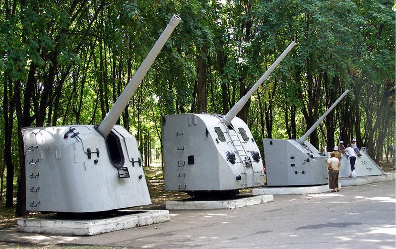 Корабельные орудия.
