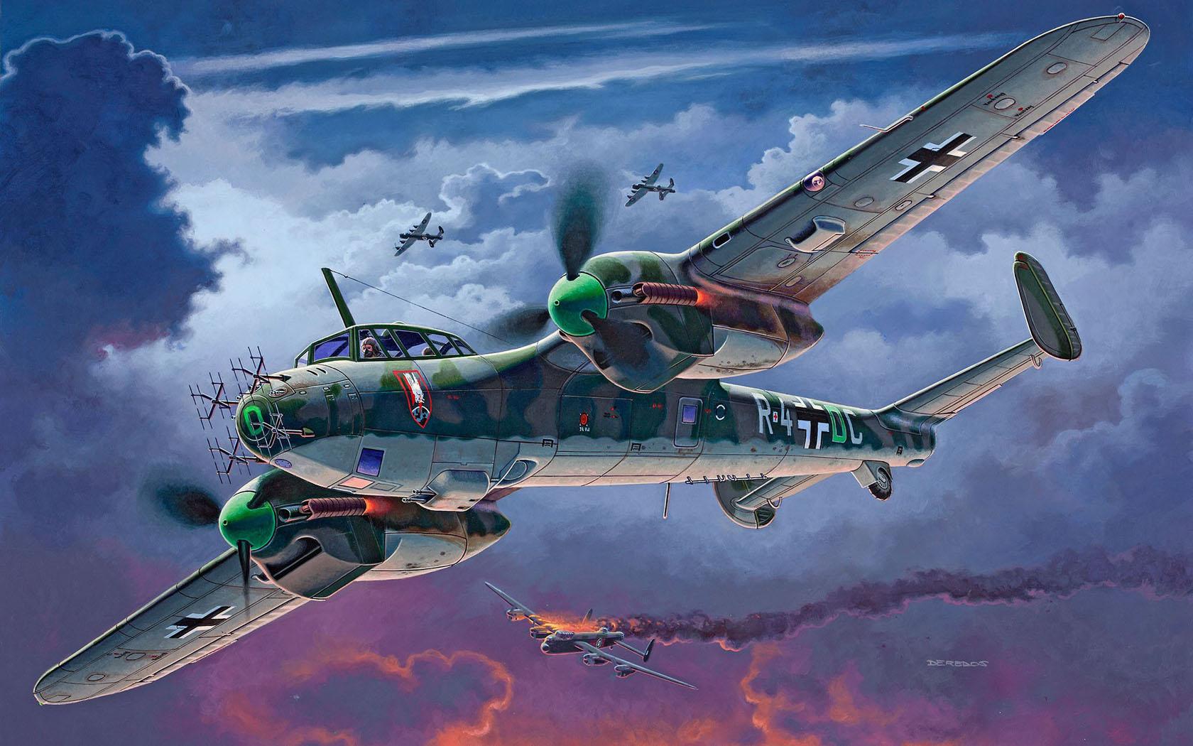 Deredos Andrzej. Разведчик-бомбардировщик Dornier Do-215 B-5 Nightfighter.