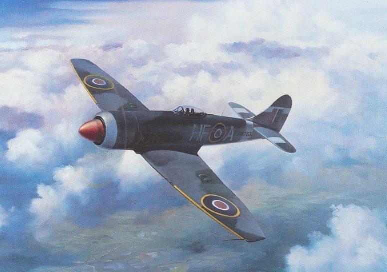 Thompson Charles. Истребитель Hawker Tempest.