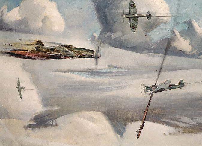 Hyndman Robert. Воздушный бой.