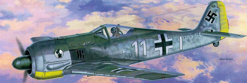 Greer Don. Истребитель Fw-190A.