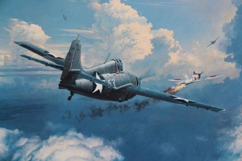 Phillips William. Воздушный бой.
