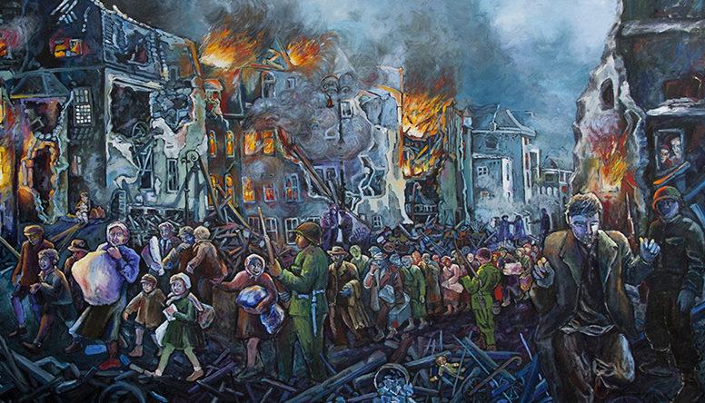 Dazzio Judith. Пожар в гетто.