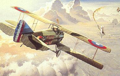 Grinell Roy. Истребитель Spad XIII.