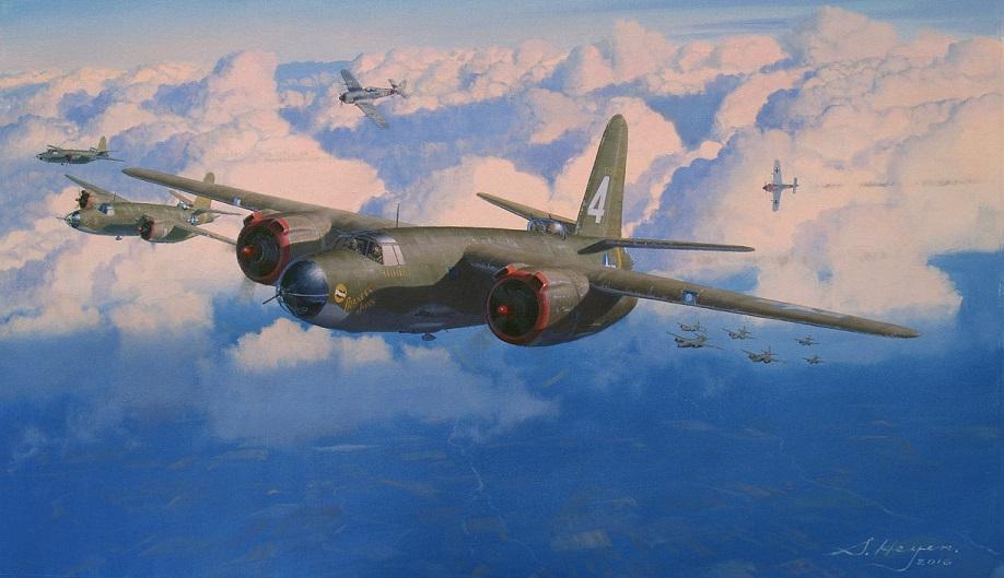 Heyen Steven. Бомбардировщик B-26 Marauder.