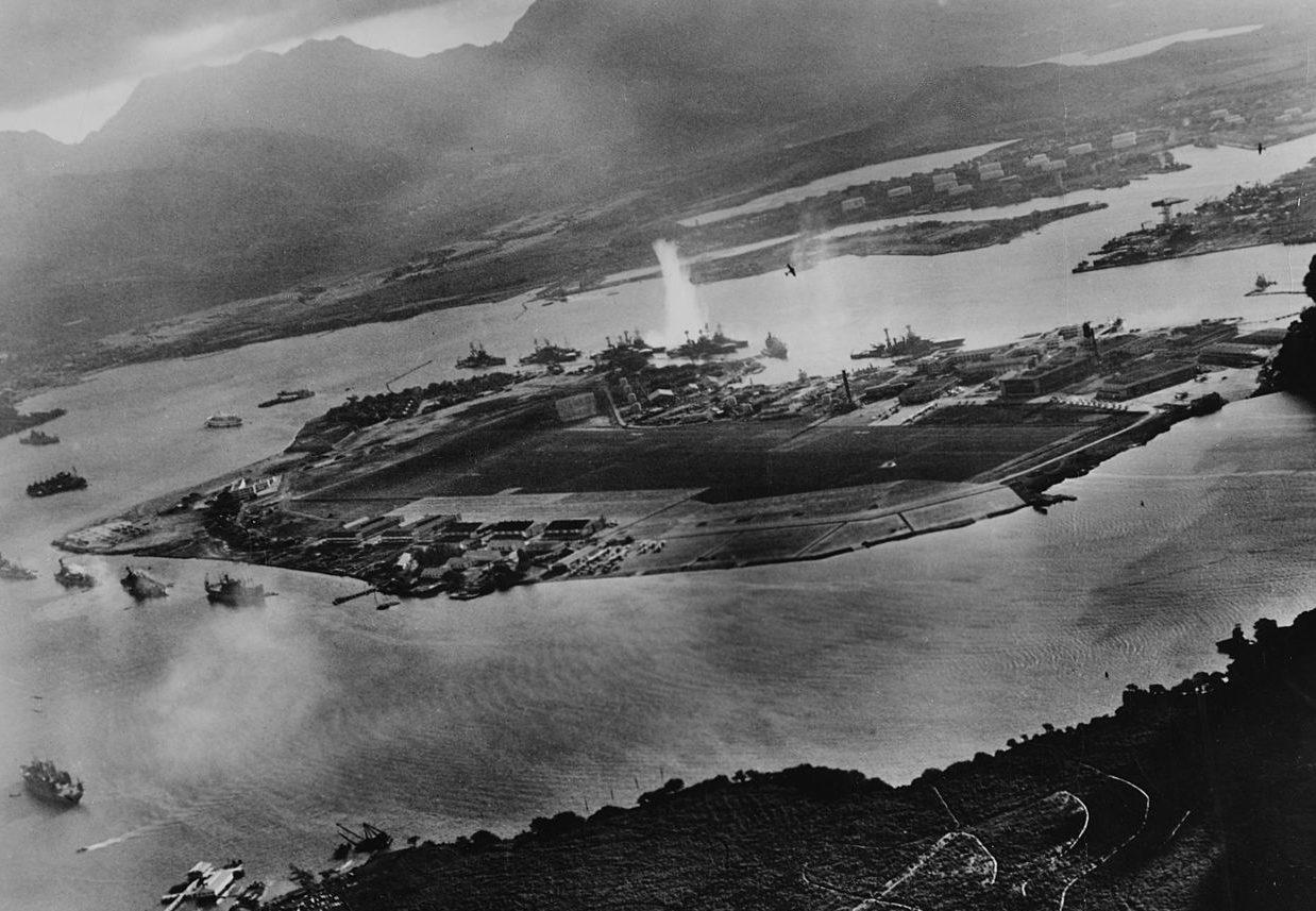 Атака на Перл-Харбор. 7 декабря 1941 г.