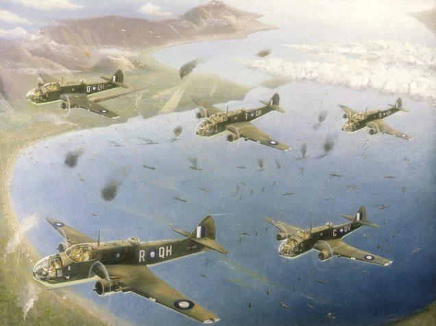 Moore Alan. Бомбардировщики над Rabaul.