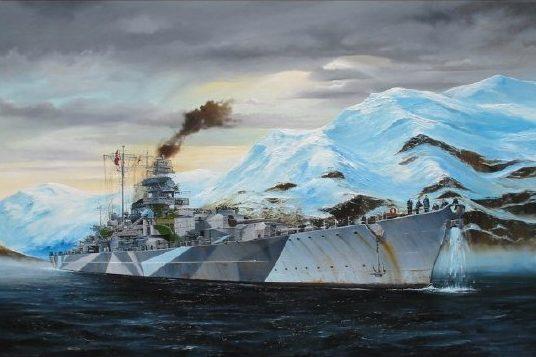 Wilson Randall. Линкор «Tirpitz».