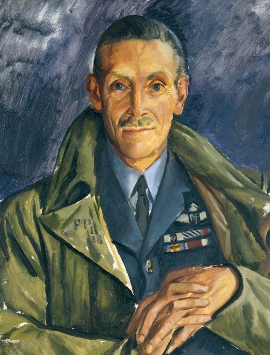 Mansbridge John. Вице-маршал авиации Keith Park.
