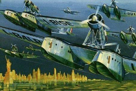 Brovarone Aldo. Летающая лодка.