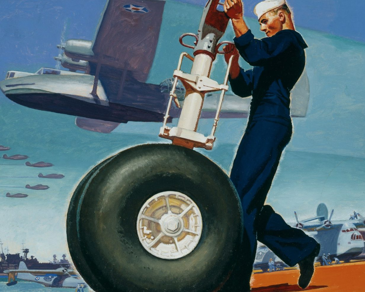 Barclay McClelland. Техник летающей лодки.