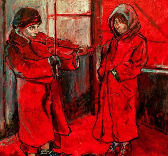 Dazzio Judith. Уличный артист.