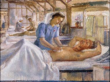 Heysen Nora. В госпитале.