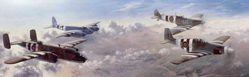 Thompson Charles. Сопровождение бомбардировщика.