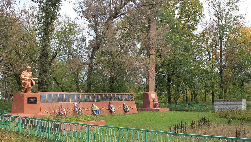 с. Подолья Барышевского р-на. Памятник, установленный в 1975 году, на братской могиле воинов, партизан и мирных жителей погибших в годы войны. Здесь же расположен памятный знак воинам-односельчанам, невернувшихся с войны.