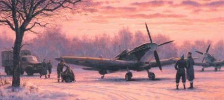 Woodcock Keith. Истребитель Supermarine Spitfire Mk.1.