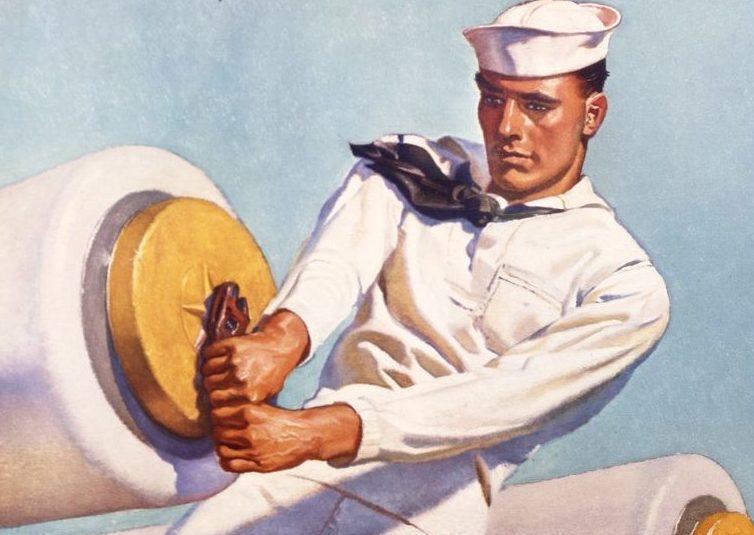 Barclay McClelland. Морской артиллерист.
