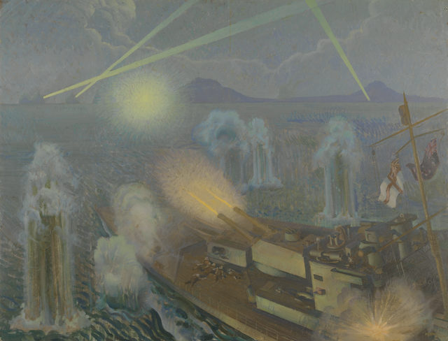 Griffin Murray. Последний бой крейсера «Perth».