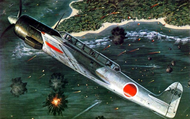 Bergese Francis. Палубный разведчик Nakajima C-6N.