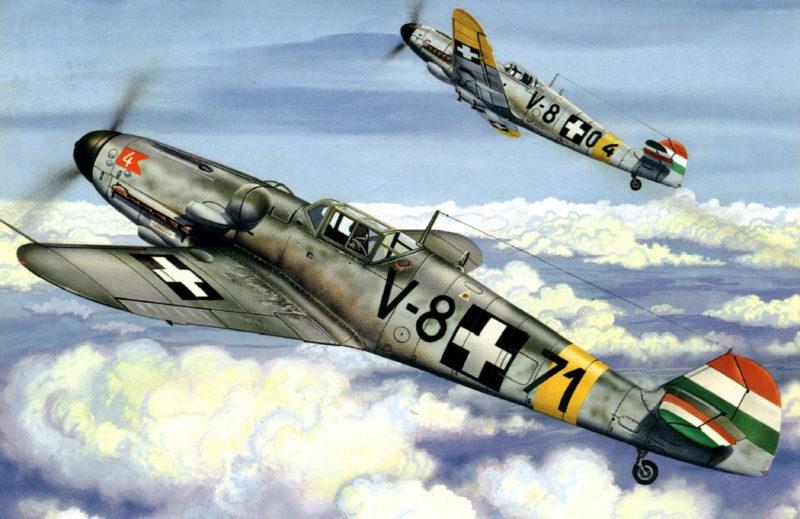 Greer Don. Истребители Bf-109.