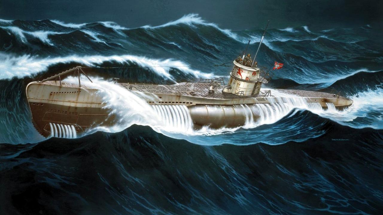 Deredos Andrzej. Подлодка U-552.