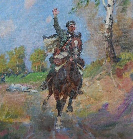 Kossak Wojciech. Уланы.
