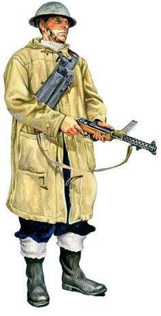 Szyzsko Marek. Британский морской пехотинец.