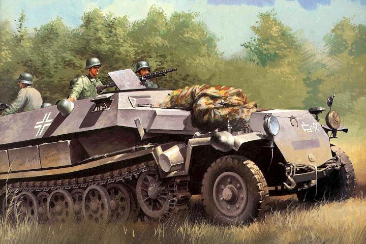 Wróbel Arkadiusz. Полугусеничный бронетранспортер Sd.Kfz. 251 Ausf. D.