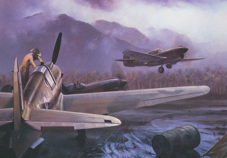 Thompson Charles. Истребитель Curtiss P-40 Kittyhawk.