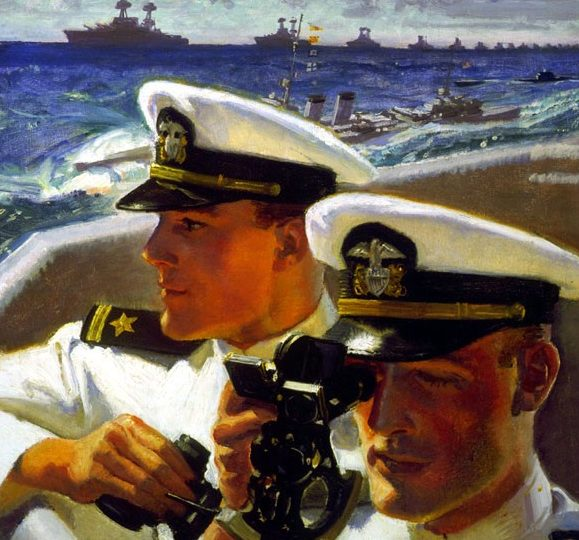 Barclay McClelland. Офицеры флота.