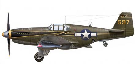 Laurier Jim. Истребители P-51 «Mustang».
