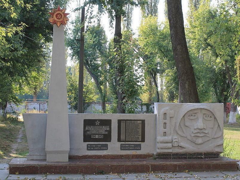г. Ирпень ул. Памятник по улице III Интернационала 183, установленный в 1974 году в честь погибших рабочих завода «БКЗ» в годы войны.