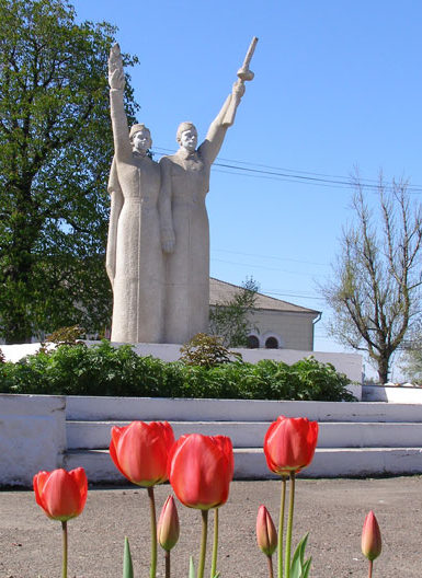 г. Балта. Мемориал воинам, погибшим в годы войны.