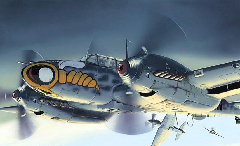 Kolacha Zbigniew. Истребитель Messerschmitt Bf-110.