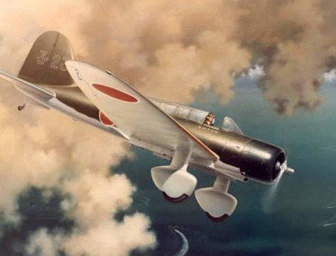 Thompson Charles. Истребитель Mitsubishi B-5M1.