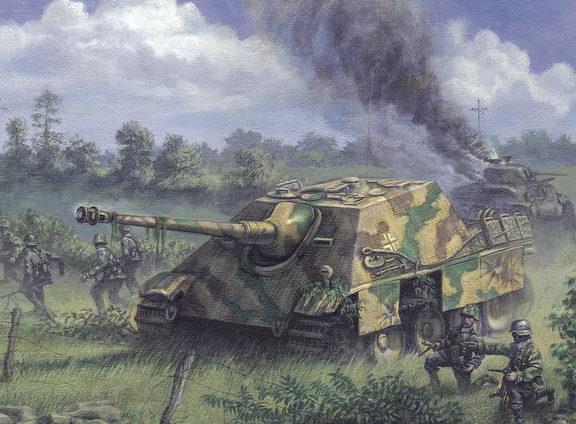 Arena Philip. САУ Jagdpanther.