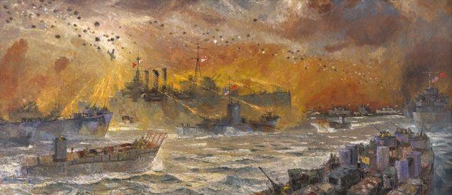 Norton Frank. Нападение камикадзе на крейсер «Australia».