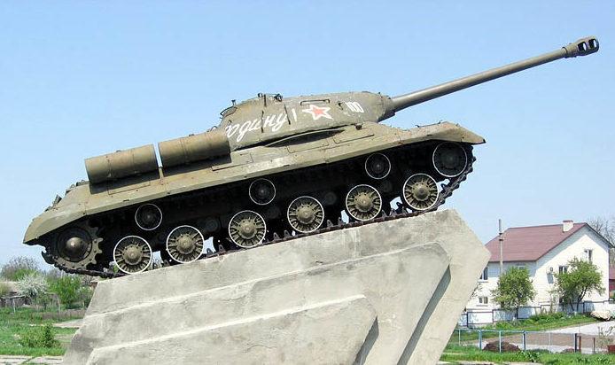 Памятник-танк ИС-3.