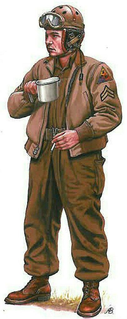 Bulczynki Arnold. Американский капрал-танкист.