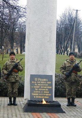 г. Балта. Памятник воинам, погибшим в годы войны.