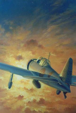 Thompson Charles. Истребитель A-6M3 «Zero».