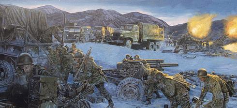 Dietz James. Полевая артиллерия.