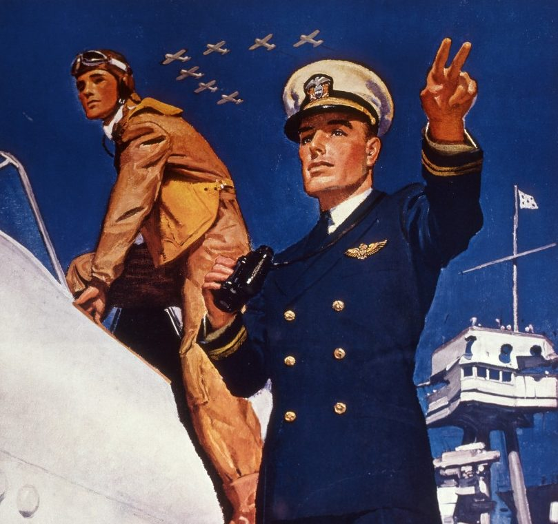 Barclay McClelland. Кадеты морской авиации.