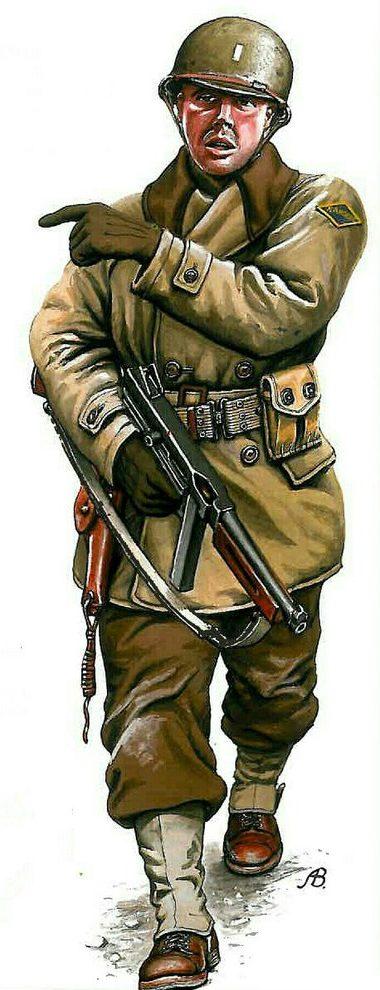 Bulczynki Arnold. Рейнджер армии США.