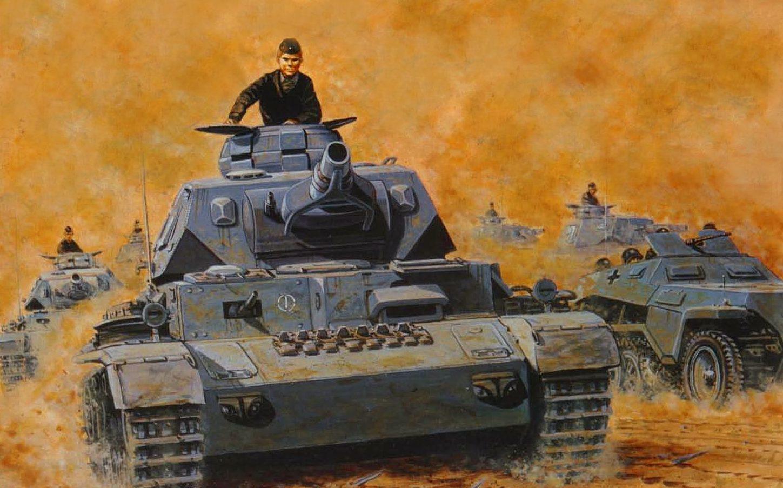 Elmore Larry. Танк Panzer IV Ausf. E.