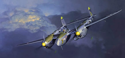 Fellows Jack. Молния! Starboard сторона P-38J.