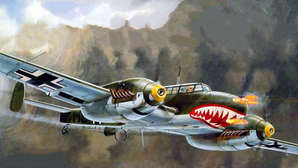 Greer Don. Истребители Bf-110С.